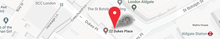 Map to our new office location